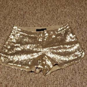 Jessica Simpson sequined dressy shorts